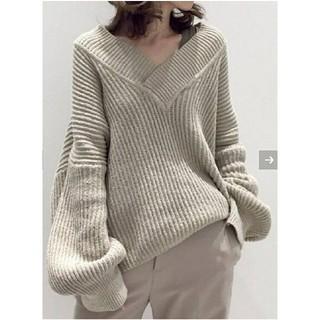 L'Appartement DEUXIEME CLASSE - Twins Florence Denim V/N Oversize Knit