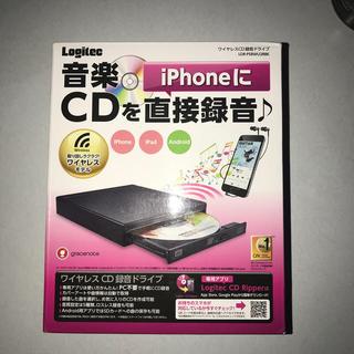 ELECOM - ロジテック ワイヤレス CD 録音ドライブ