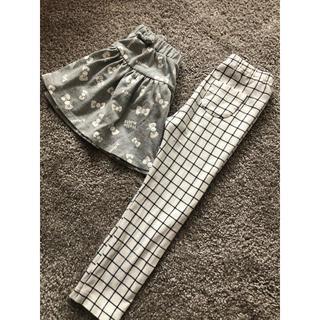 UNIQLO - UNIQLO ズボンとスカート 100