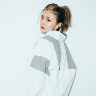 X-girl - エックスガール  COLORBLOCK ZIP UP JACKET