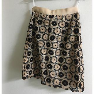 anatelier - anatelier 刺繍スカート