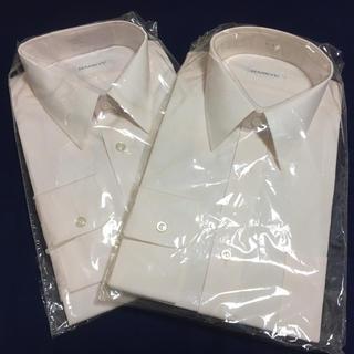 ハンキュウヒャッカテン(阪急百貨店)の【新品】メンズ ワイシャツ 39-80 薄ピンク 長袖 2枚セット(シャツ)