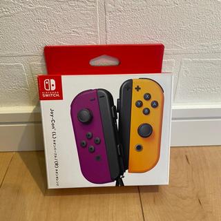 ニンテンドースイッチ(Nintendo Switch)のJoy-Con ジョイコン パープル オレンジ(その他)