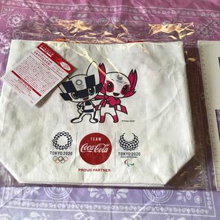 コカコーラ(コカ・コーラ)の東京オリンピック×コカコーラコラボ☆トートバッグ2点セット(ノベルティグッズ)