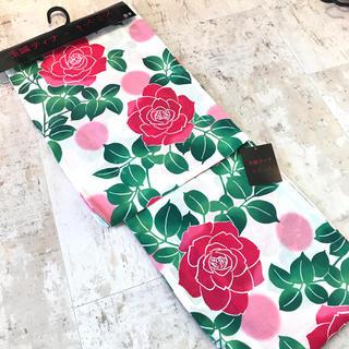 キスミス(Xmiss)の【新品未使用】玉城ティナ キスミス 浴衣 薔薇(浴衣)