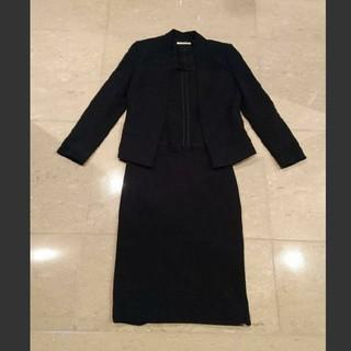 EPOCA - EPOCA エポカ セットアップ 黒 スーツ コットン 綿