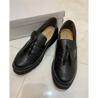 アシナガオジサン(あしながおじさん)のあしながおじさん タッセル ローファー 美品 L(ローファー/革靴)