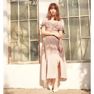 【U様専用】新品herlipto Button Front Maxi Dress
