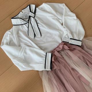 tocco - ♡レースチュールスカート*tocco closet ボウタイりぼんセット♡