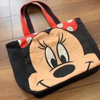 ディズニー(Disney)のミニーマウス トートバッグ(マザーズバッグ)