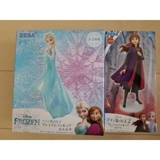 SEGA - アナと雪の女王 プレミアムフィギュア#エルサ・アナ 2体セット アナ雪