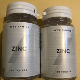 マイプロテイン(MYPROTEIN)のマイプロテイン 亜鉛 180錠 6カ月分(その他)