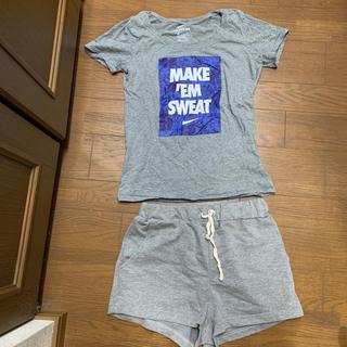 ナイキ(NIKE)のNIKE Tシャツとショーパンsetで(ルームウェア)