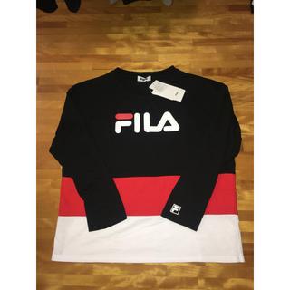 フィラ(FILA)のFILA セットアップ/春秋用/黒(Tシャツ(長袖/七分))