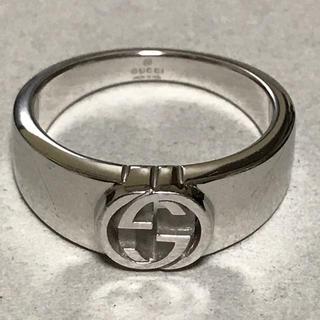 Gucci - GUCCI グッチ 正規品 G シルバー リング 19号 指輪 中古 美品