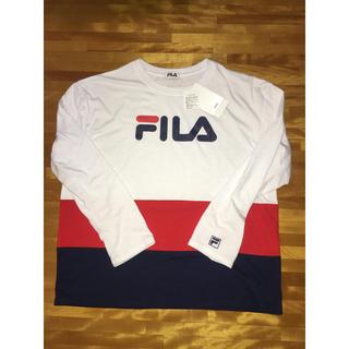 フィラ(FILA)のFILA ロンT/白(Tシャツ(長袖/七分))