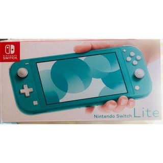 ニンテンドースイッチ(Nintendo Switch)のNintendo Switch lite  任天堂 スイッチ ライト ターコイズ(家庭用ゲーム機本体)