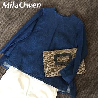 Mila Owen - ミラオーウェン デニム トップス バンヤードストーム ナノユニバース