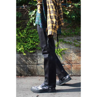 ジエダ(Jieda)のJieDa × Dickies SWITCHING PANTS BLACK 2(チノパン)