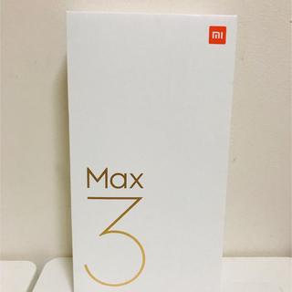 ANDROID - 即日発送 新品 Xiaomi Mi Max 3 4GB 64GB グローバル