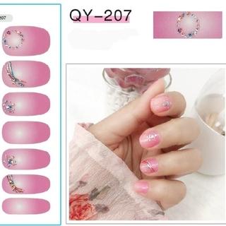 QY207 ネイルシール ジェルネイル(ネイル用品)