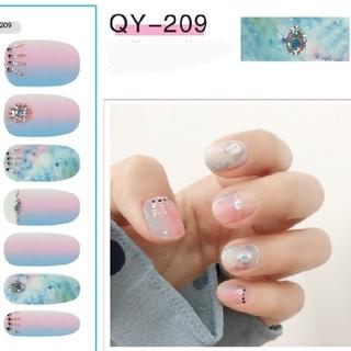 QY209 ネイルシール ジェルネイル(ネイル用品)
