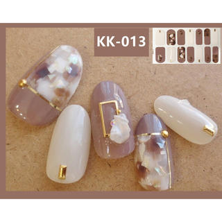 高品質✨ ネイルシール❤︎ KK-13(ネイル用品)