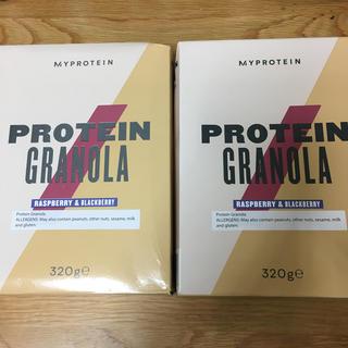 マイプロテイン(MYPROTEIN)のプロテイングラノーラ ラズベリー&ブラックベリー 320g 2個セット(プロテイン)