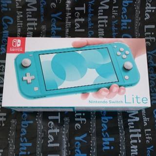 ニンテンドースイッチ(Nintendo Switch)のNintendo switch lite ターコイズ【新品・未使用】(携帯用ゲーム機本体)