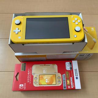 ニンテンドースイッチ(Nintendo Switch)のニンテンドーSwitch lite シリコンケースセット(携帯用ゲーム機本体)