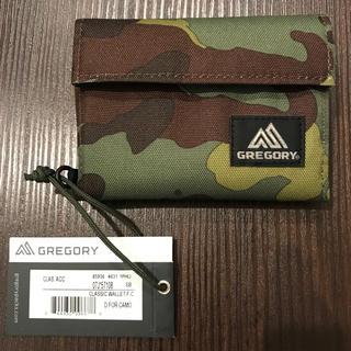 グレゴリー(Gregory)のGregory  CLASSIC WALLET ディープフォレストカモ 新品(折り財布)