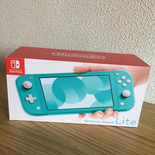 ニンテンドースイッチ(Nintendo Switch)のニンテンドー スイッチライト ターコイズ 本体 任天堂(家庭用ゲーム機本体)