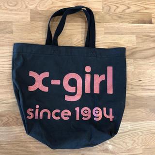 X-girl - トートバッグ エコバッグ X-girl