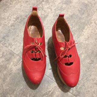 ヴィヴィアンウエストウッド(Vivienne Westwood)のロッキンホース ギリー ヴィヴィアン(ローファー/革靴)