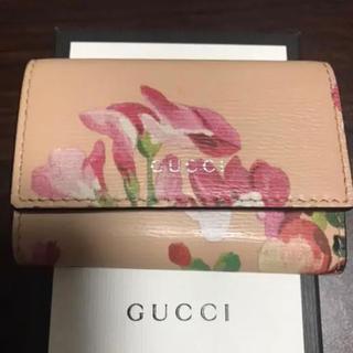 グッチ(Gucci)のGUCCI (グッチ) キーケース ピンク 410118-525040(キーケース)