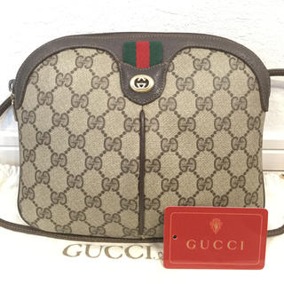 Gucci - 美品♡オールド GUCCIグッチ ショルダーバッグ シェリーライン