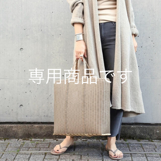 DEUXIEME CLASSE - 完売 PALOROSA トートバッグ lacebag L kahki