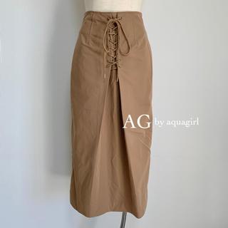 AG by aquagirl - AG by aquagirl レースアップタイトスカート