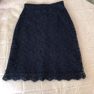 ユニクロ(UNIQLO)のユニクロ レーススカート (ひざ丈スカート)