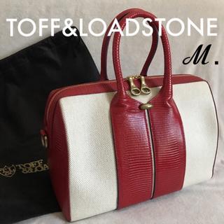 TOFF&LOADSTONE - 新品同様✱定4.2万✱トフ&ロードストーン✱ハイエンド キャンバス ボストン