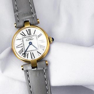 Cartier - 【仕上済】カルティエ ヴァンドーム オパラン SM ゴールド 腕時計
