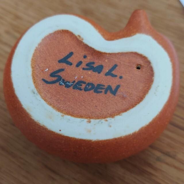 Lisa Larson(リサラーソン)のリサラーソンきつねガチャおまけ付き インテリア/住まい/日用品のインテリア小物(置物)の商品写真