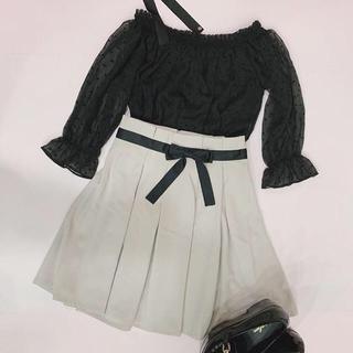 evelyn - evelyn リボンスカート