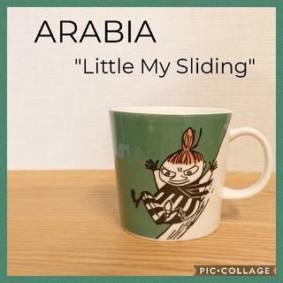 アラビア(ARABIA)の【廃盤品】ARABIA アラビア ムーミンマグ 旧リトルミィ マグカップ ミイ(グラス/カップ)