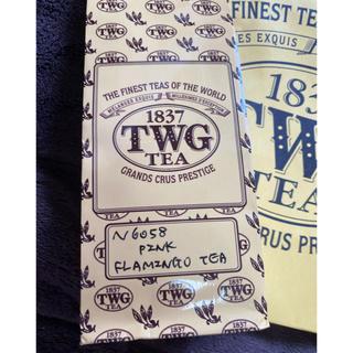 ★TWG PINK FLAMINGO TEA 50g ピンクフラミンゴ★紅茶(茶)