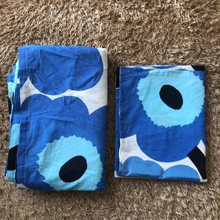 マリメッコ(marimekko)の布団カバー 枕カバー(シーツ/カバー)