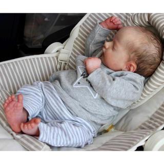 リボーンドール アシェリー3Dリアルキット 新生児 45センチ 芸術 美術 作品