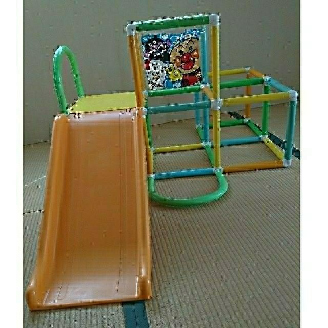 アンパンマン ジャングルジム キッズ/ベビー/マタニティのおもちゃ(ベビージム)の商品写真
