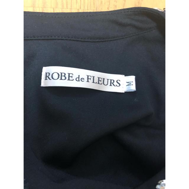 ROBE(ローブ)のROBE deFLEURS ペプラムブラウス レディースのフォーマル/ドレス(ナイトドレス)の商品写真