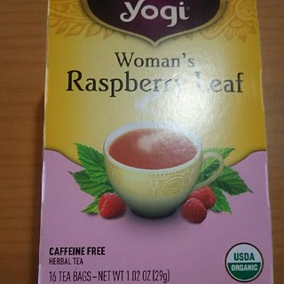 カルディ(KALDI)のyogi womans rasberry leaf(茶)